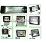 2017년 공장 가격 Ce/RoHS Brigelux 45mil 110-120lm/W LED 옥외 플러드 빛, IP65 50W70W100W200W250W 옥외 LED 플러드 점화