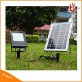 15W 120 المصابيح في الهواء الطلق أضواء LED للطاقة الشمسية حديقة ضوء الاضواء الكاشفة الشمسية مع شرطة التدخل السريع استشعار الحركة