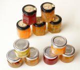 Tarros de cristal claros de la miel 1oz/tarro de cristal del yogur/mini tarro de cristal para el atasco