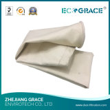 Saco de filtro de fibra de vidro industrial de fábrica de aço