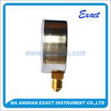 Pressione relativa del Misurare-Bordone di pressione dell'acciaio inossidabile - manometro PSI