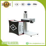 Marcador láser óptico de fibra del oído Tag máquina de marcado láser / Ear Tag