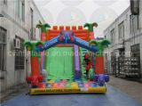 Trasparenza gonfiabile dell'elefante, fabbrica di salto gigante della trasparenza diretta