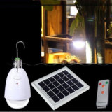 12 LED de controle remoto infravermelho recarregável Solar Powered luz de lâmpada LED Iluminação interna de casa