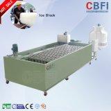 Grande macchina del ghiaccio in pani da 5000 chilogrammi /Day per la conservazione fresco