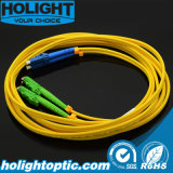 LC a la fibra Patchcord óptico de E2000 APC