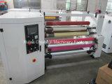 Cinta adhesiva de Full Auto Double-Shaft Jumbo Roll de la máquina de rebobinar