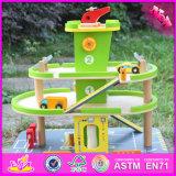 Игрушка W04b037 места для стоянки шаржа 2016 новых детей конструкции смешных деревянная
