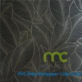 Anchura grabada profunda del PVC Wallpaper/1.06/estilo coreano