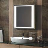 Miroir imperméable à l'eau de bande d'éclairage LED de miroir de salle de bains de sablage