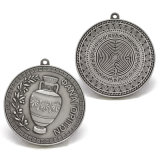 De Plata antiguos recuerdos de metal 3D de Artesanía de la medalla de Premio medallas y trofeos Brooch