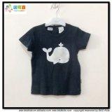 Normaler schwarzer Baby-Kleid-runder Stutzen-neugeborenes T-Shirt