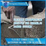 Excelente efecto impermeable y Anti Crack-acrílico de dispersión para cemento
