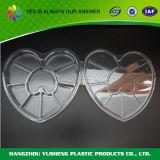 Модный пластиковый ящик для хранения продуктов с разделителями
