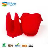 Handschoenen van de Pannelap van de Vorm van de Handschoen van de Kikker van het Silicone van de Rang van het voedsel de Materiële