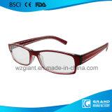Popular Bright Light Fancy Design Frame Óculos de leitura magnética