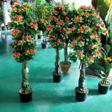 인공적인 사과 나무 옥외 사용