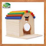 다채로운 Hedgehogs 감금소 햄스터 감금소 기니피그 감금소 토끼 굴 나무로 되는 장난감 집 전망대 장난감