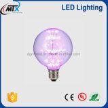 Globe à LED série G80 / G125 / G150 ampoule décorative Epistar LED 3W