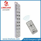 Luz Emergency recargable del LED con teledirigido