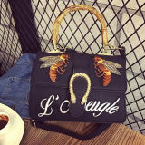 刺繍されたHot Sale Hand-made Fashion袋のハンドバッグの女性ショルダー・バッグSy8088をカスタマイズしなさい