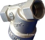 Peças de usinagem de rosca interna de inserção de bronze