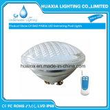 24W RGB IP68 PAR56 LED Swimmingpool-Licht mit drahtlosem Fernsteuerungs