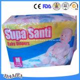 Couches-culottes remplaçables de bébé de Supa Santi pour le Ghana