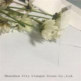vidrio de cal sodada ultrafino claro de 0.2m m para el vidrio óptico
