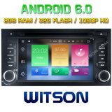 Witson Acht Androïde 6.0 Auto van de Kern DVD voor Zetel Leon 2014