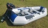 3m PVC膨脹可能な漁船および膨脹可能なアルミニウム床のボート