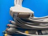 Fukuda 15pin Kabel EKG/ECG van CEI DIN3.0