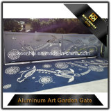 Landhaus-dekoratives Aluminiumeingangs-Gatter