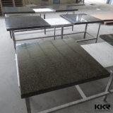 Белая круглая искусственная каменная обедая таблица