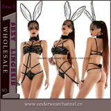 Sexy Halloween Cute Bunny Girl Lingerie cosplay costume (T89019)