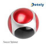 Het voetbal friemelt de Spinner van de Hand van het Metaal van de Spinner