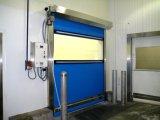 도매 다중 색깔 고속 회전 연약한 PVC 직물 커튼 문 (Hz HSD07)