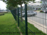 Cerca soldada galvanizada fábrica/Ogrodzenie del panel de Polonia