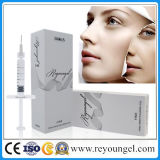 Sécurité élevée l'acide hyaluronique dermique de gel de remplissage de contour du visage Derm 2ml
