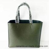 PU женщин конструктора тавра выбил сумки при установленный мешок (NMDK-050203)