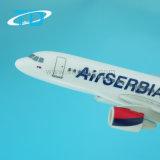 A319 de Air Servia 17cm Escala 1: 200 de plástico modelo de avión