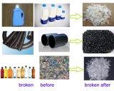 Plástico Waste que esmaga recicl o Shredder plástico do frasco do animal de estimação da máquina