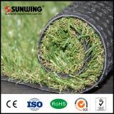 容易なインストール20mm高さの人工的な芝生のタイル