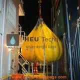 Cheio de Água 25t sacos de peso para o guindaste e as jangadas lançadas no Teste de Carga