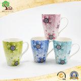 Taza de café de cerámica de girasol para el cliente Don Melón Cup