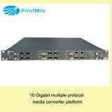 Carrier Grade Conversor de mídia 10 Gigabit OnMetro 8000