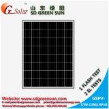 el panel polivinílico 185W de la célula solar 24V