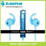 Trasduttore auricolare di Bluetooth di sport S3020 e di musica con magnetico assorbente liberamente