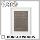 Bâti en bois noir de photo d'illustration de Matt pour le cadeau de promotion