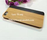 Protótipos rápidos de madeira do CNC do OEM para o caso do iPhone